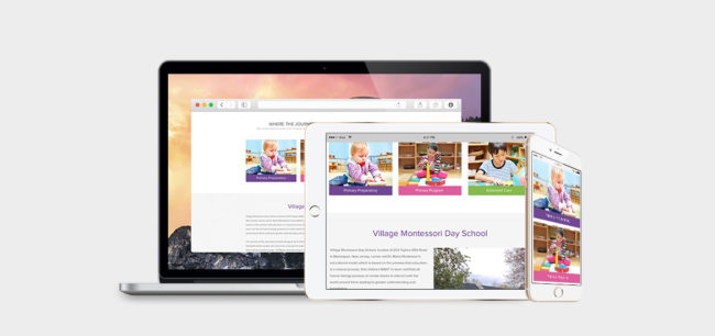 Village Montessori Day School - Responsive | Centaur Marketing