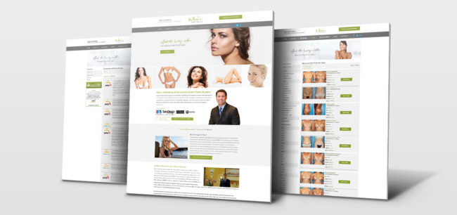 Marin Aesthetics - Homepage | Centaur Marketing