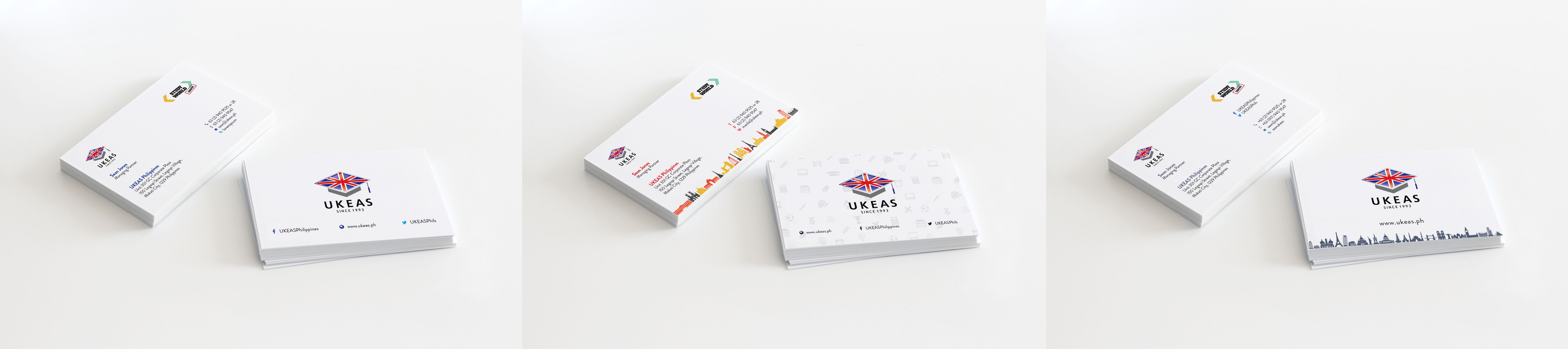 UKEAS Business Cards - Centaur Marketing