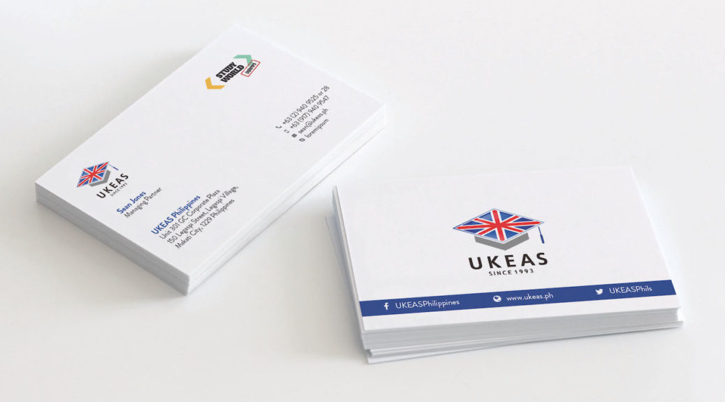 UKEAS Business Cards