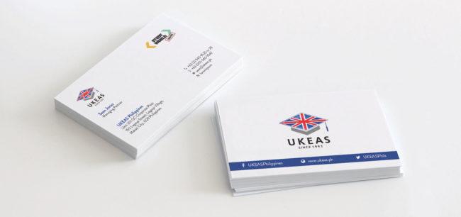 UKEAS Business Cards