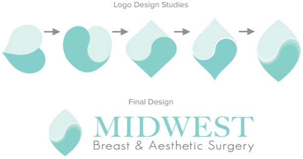 logo design progression