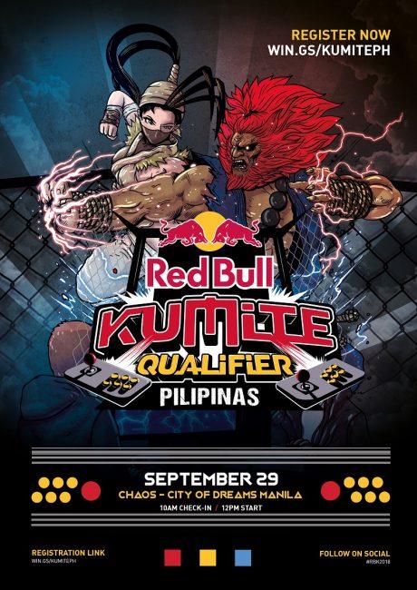 Red Bull Kumite Poster